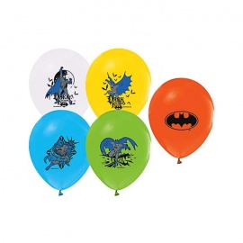 Batman Dark Knight Baskılı Balon 12'li