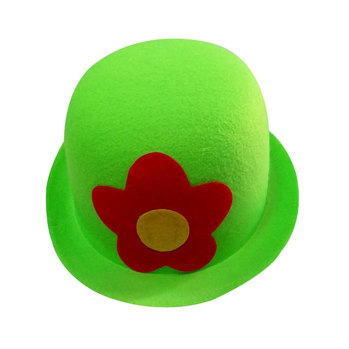 Palyaço Melon şapka Yeşil